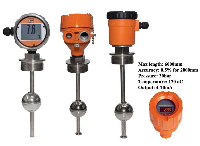Cảm biến đo mức nước dạng phao tuyến tính