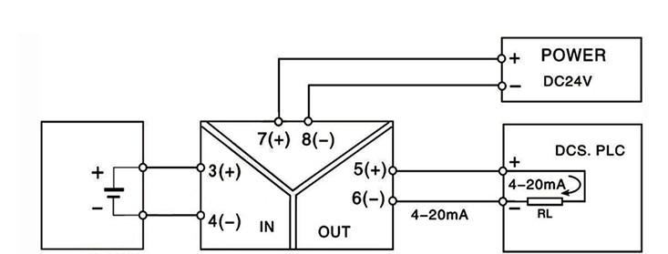 Bộ chuyển tín hiệu 0-10VDC sang 4-20mA