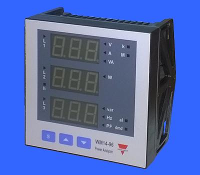 Đồng hồ đo năng lượng WM1496AV53DS, WM1496AV53DX