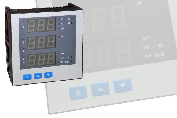 Đồng hồ đo kwh, dòng điện, điên áp, cos phi