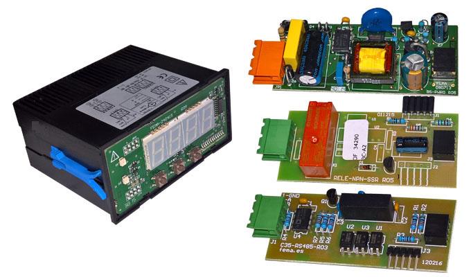 Thiết kế bộ hiển thị tín hiệu dạng module.