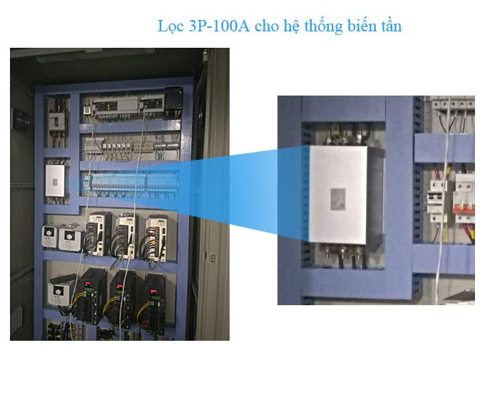 Bộ lọc nhiễu điện 100A - 3P