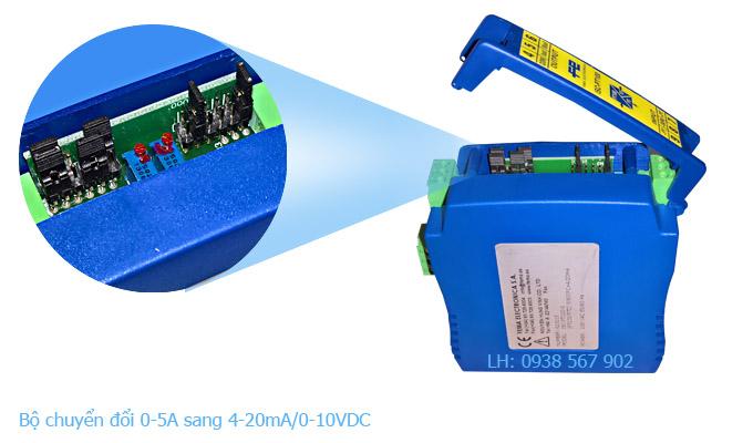 Bộ chuyển đổi tín hiệu 0-5A sang 4-20mA, 0-10VDC