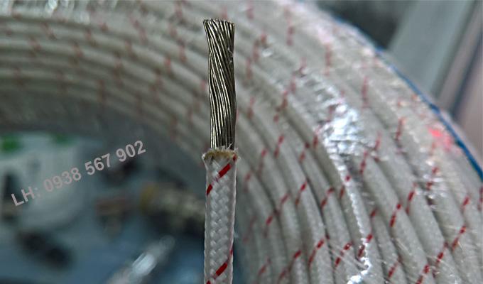 Kết cấu dây điện chịu nhiệt, dây chịu nhiệt amiang