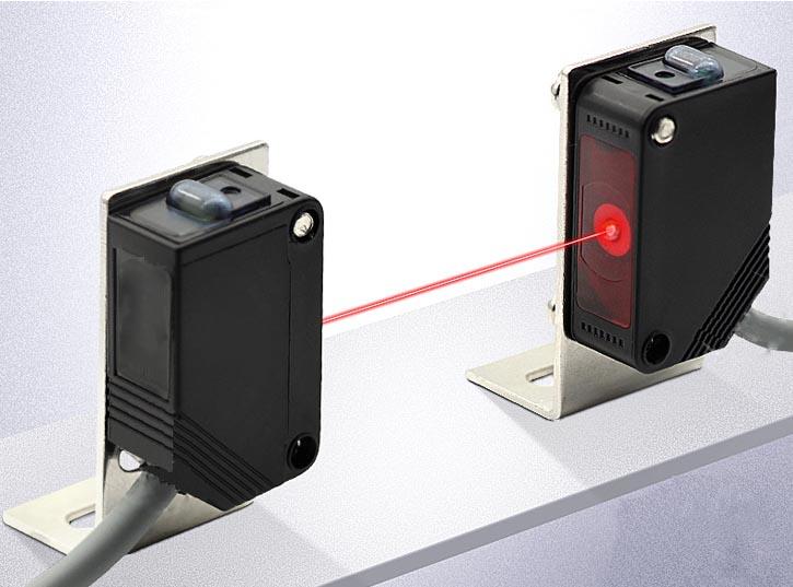 Cảm biến quang laser, cảm biến laser phát hiện vật