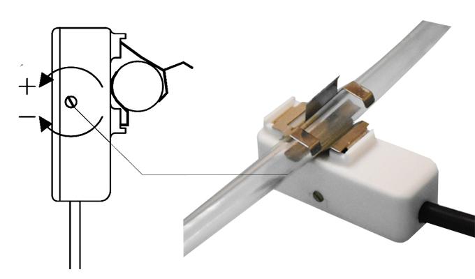 Cảm biến báo mức điện dung kiểu đường ống nhỏ