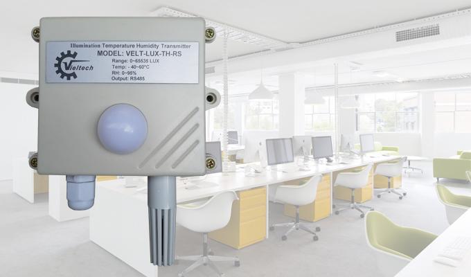 Ứng dụng cảm biến đo cường độ lux trong văn phòng, thư viện, lớp học.