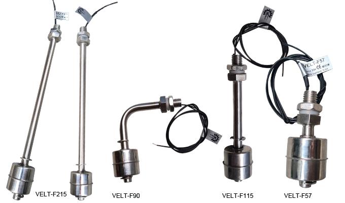 Phao inox VELT-F90, VELT-F57, VELT-F115, VELT-F215