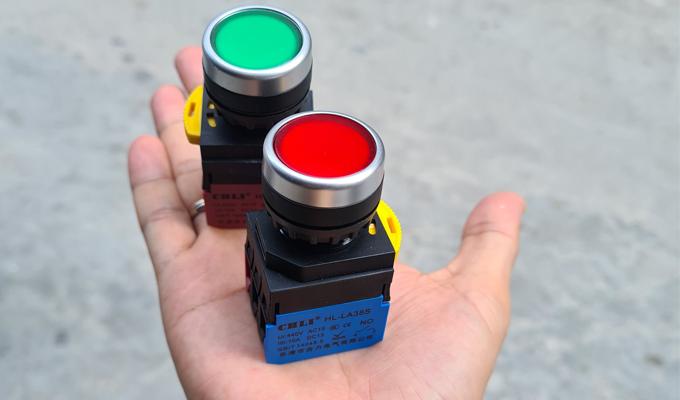 Nút nhấn đèn, nút bấm có đèn