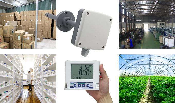 Một số ứng dụng cảm biến đo ẩm không khí
